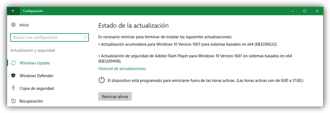 Microsoft actualizaciones Windows 10 y Adobe Flash Player diciembre 2016