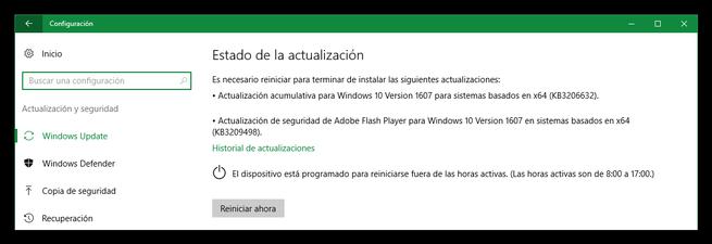 Microsoft actualizaciones Windows 10 y Adobe Flash Player diciembre 2016