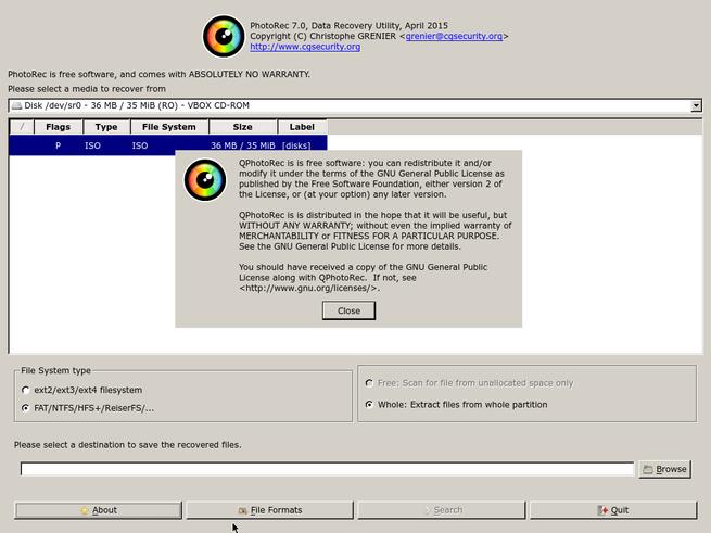 PhotoRec 7.0 en 4MRecover