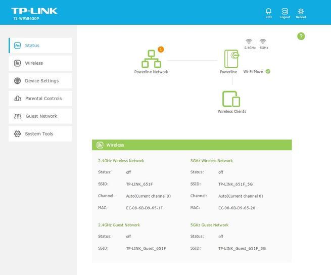 tp-link-tl-wpa8630p-kit-menu-de-configuracion-web-principal
