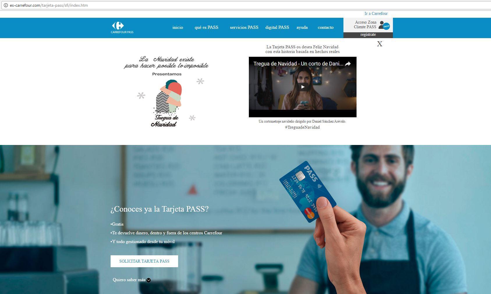Carrefour De Nuevo La Imagen De Una Campana Phishing En Espana