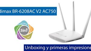 Conoce el router Edimax BR-6208AC V2 en vídeo, su firmware incorpora un servidor VPN