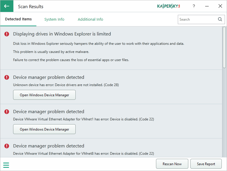 Kaspersky System Checker analiza tu equipo gratis