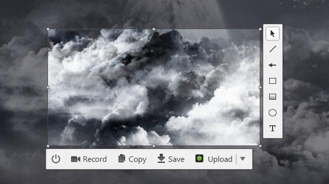 cloudshot capturas de pantalla en Windows