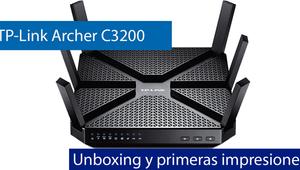 Conoce el router TP-Link Archer C3200 AC3200 en nuestro vídeo