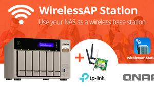 QNAP se une a TP-Link para dotar a sus NAS de conectividad Wi-Fi, conoce WirelessAP Station