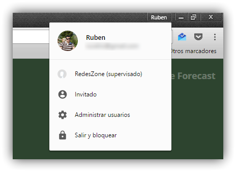 Bloquear perfil Google Chrome
