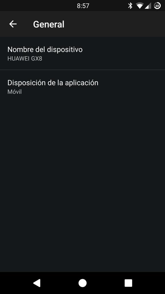 Cambiar nombre Plex Android