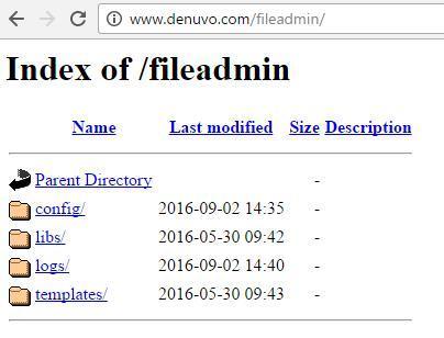 Datos privados Denuvo