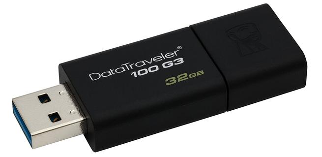 Kingston DT100G3 USB 3.0 para routers neutros