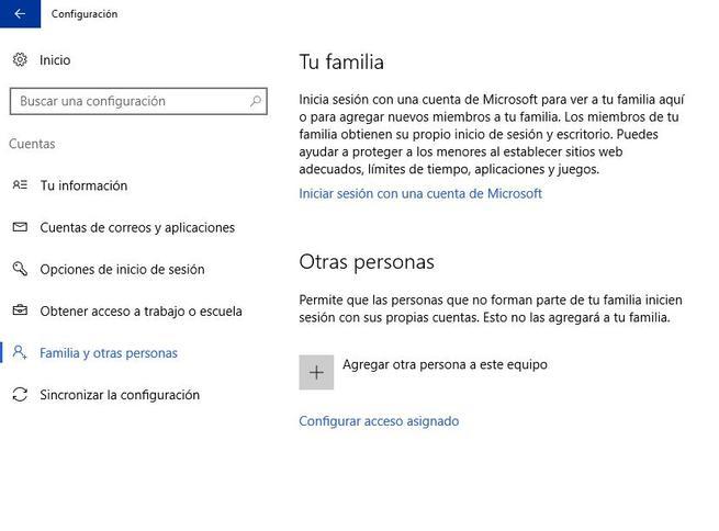 windows 10 cuentas de administrador