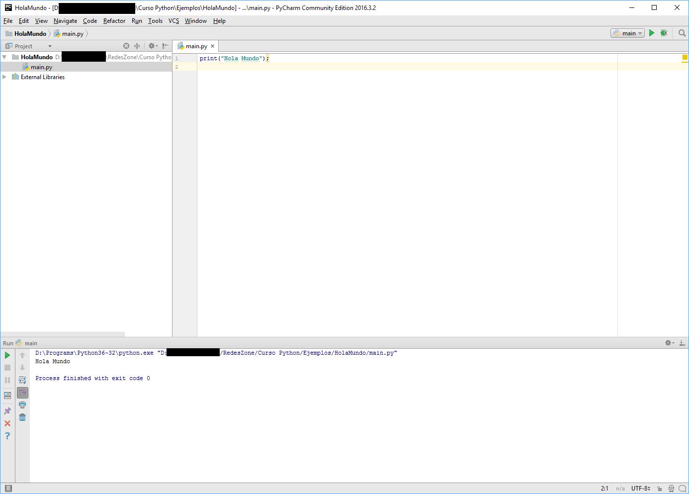 Curso Python. Volumen I: Introducción a Python e instalación del ...