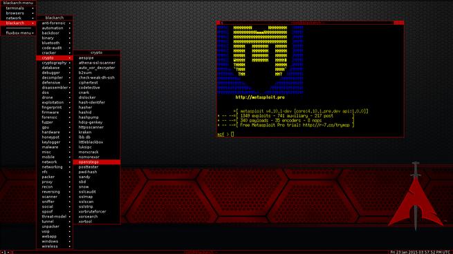 BlackArch Linux - Hacking Etico