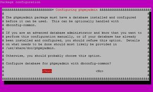 Configuración PHPMyAdmin