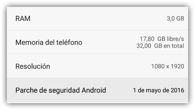 Huawei seguridad Android