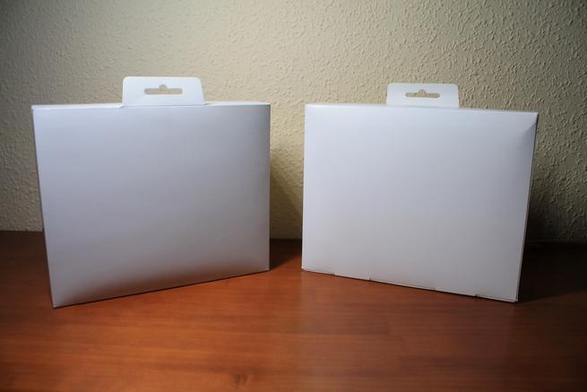 Cajas contenidas en el embalaje de la NETGEAR Arlo VMS3230