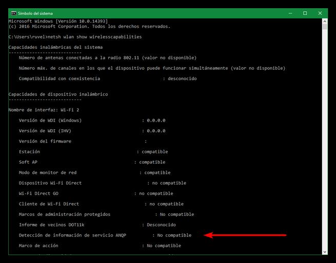 Tarjeta de red compatible con Hotspot 2.0