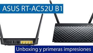 ASUS RT-AC52U B1: Conoce este sencillo router con puertos Gigabit en nuestro vídeo