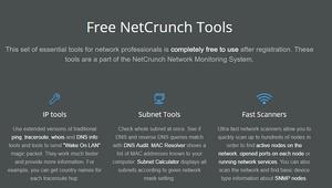 NetCrunch: Descubre este conjunto de herramientas de red para Windows