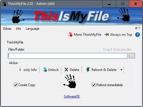 ThisIsMyFile elimina archivos bloqueados en Windows