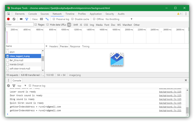 Detalles conexiones extensiones Google Chrome