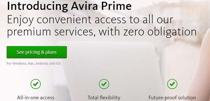 avira prime solucion premium seguridad
