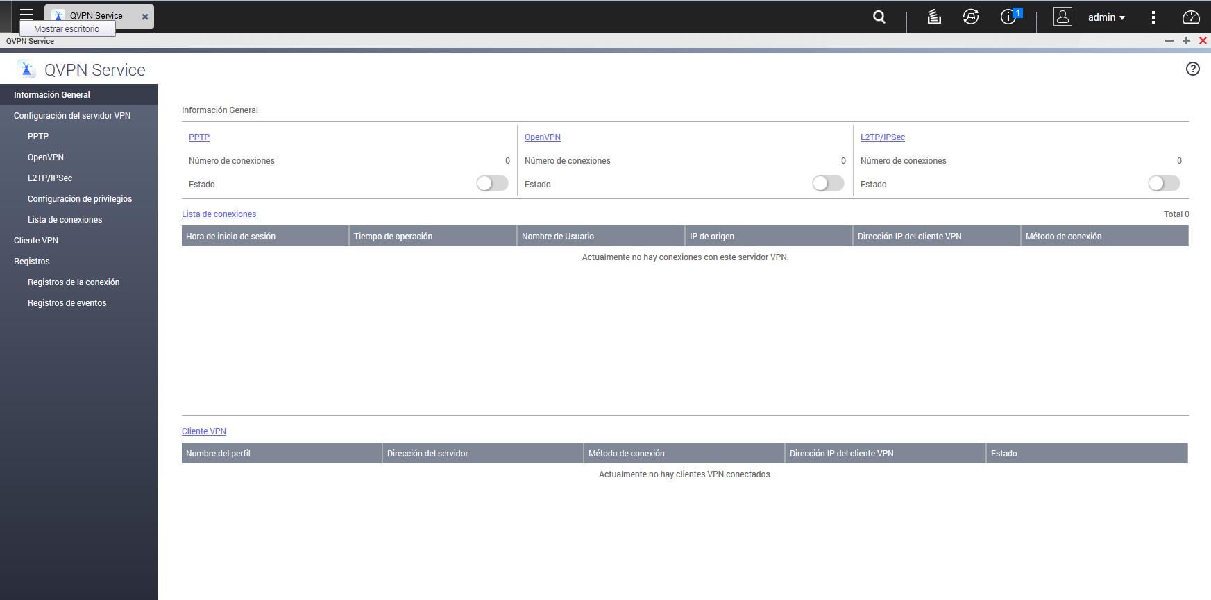 QVPN Service: Manual para configurar un servidor OpenVPN en un NAS QNAP