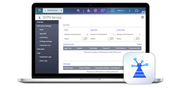 Cómo configurar un servidor OpenVPN en un QNAP usando QVPN