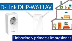 Conoce los PLC D-Link DHP-W611AV con Wi-Fi en nuestro vídeo