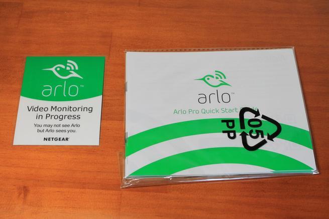Documentación NETGEAR Arlo Pro