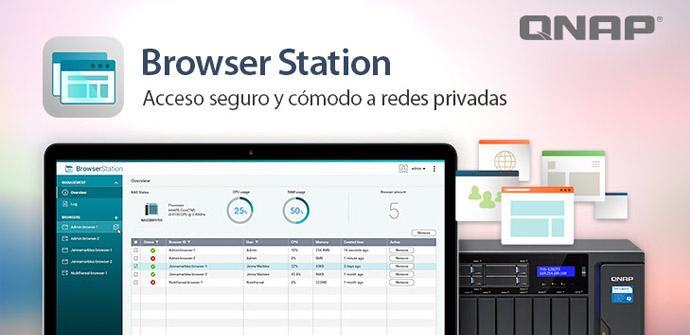 Ver noticia 'Probamos QNAP Browser Station, un software para acceder remotamente vía web a los recursos del hogar o empresa'