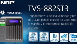 Si necesitas un servidor NAS para discos de 2,5 pulgadas, el QNAP TVS-882ST3 será tu mejor opción