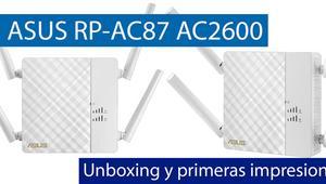Conoce el repetidor Wi-Fi ASUS RP-AC87 AC2600 en nuestro vídeo