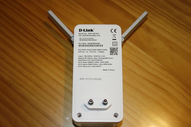 Zona posterior del PLC de alto rendimiento D-Link DHP-W611AV
