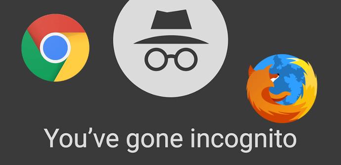 Modo Incógnito navegadores