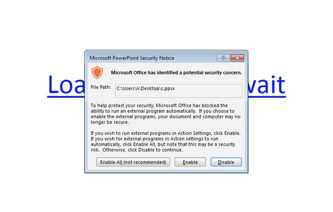 PowerPoint malware Zusy