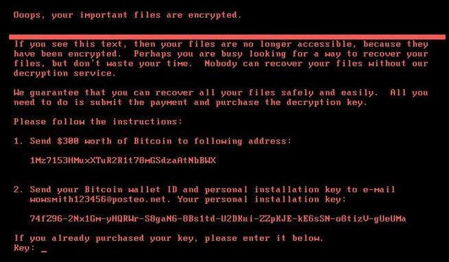 Ransomware Petya NotPetya