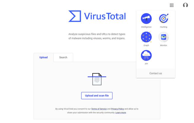 VirusTotal - Nueva interfaz