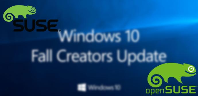 Windows 10 SUSE OpenSUSE