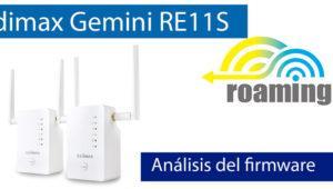 Conoce el firmware de los Edimax Gemini RE11S configurados con Wi-Fi Mesh