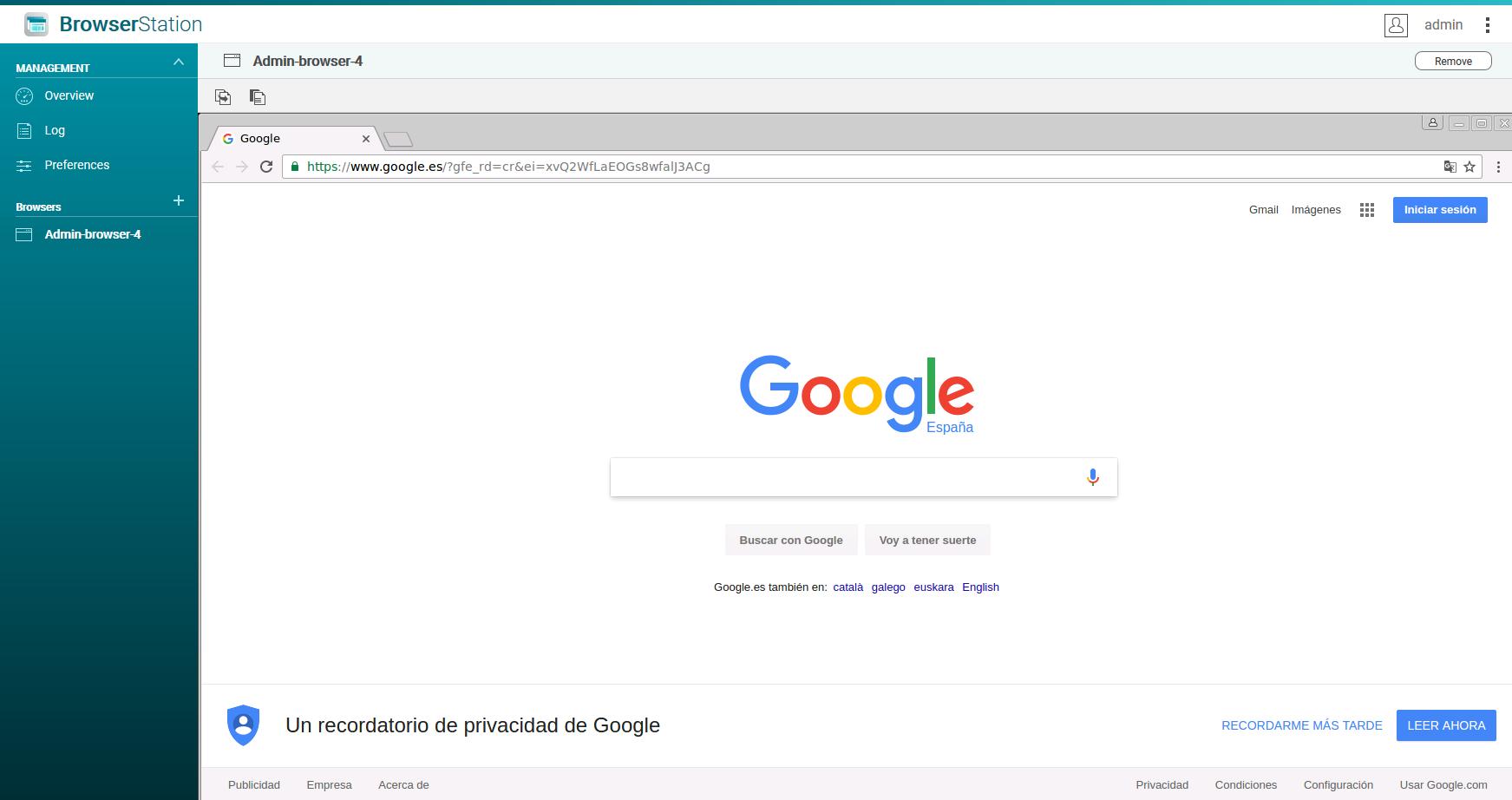 QNAP Browser Station: Probamos este software para acceso remoto local