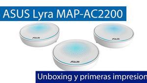 Conoce el ASUS Lyra MAP-AC2200, el primer sistema Wi-Fi Mesh del fabricante