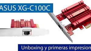 ASUS XG-C100C: Conoce la primera tarjeta 10G de ASUS en nuestro video