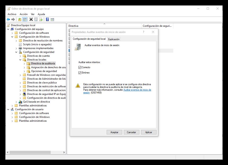 Cómo ver quién inicia sesión en Windows 10 y cuándo lo hace