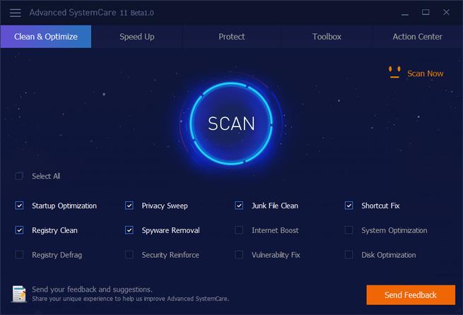 IObit Advanced SystemCare herramienta de seguridad que se puede obtener gratis y compatrible con sistemas Windows