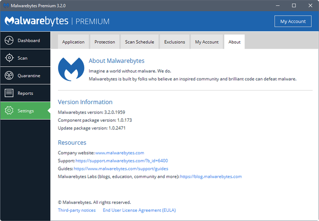 Malwarebytes 3.2 mejora del uso de memoria RAM