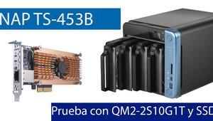 QNAP TS-453B: Probamos el máximo rendimiento de este NAS con tarjeta 10G y SSD