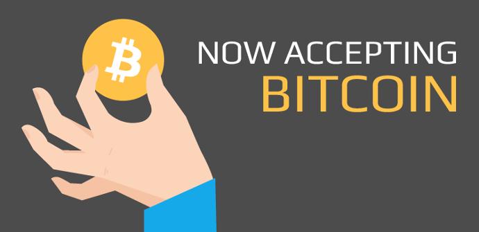 Se acepta pago con Bitcoin