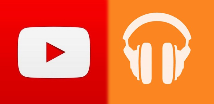 YouTube y Google Play Music