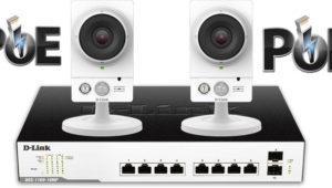 Así puedes alimentar la cámara IP D-Link DCS-2210L con el switch PoE D-Link DGS-1100-10MP